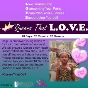 Queens That LOVE flyer